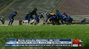 BCHS Eagles prepping on the turf [Video]