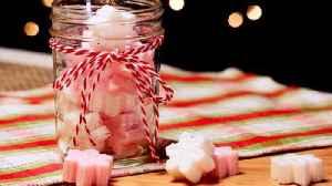 Peppermint Sugar Scrub Cubes are a Dream DIY Spa Gift [Video]
