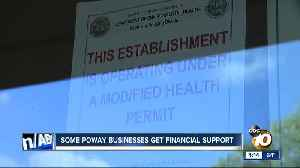 Some Poway businesses get financial support after boil water order [Video]