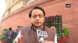 BJP speaking Pak's language not Congress Shashi Tharoor [Video]