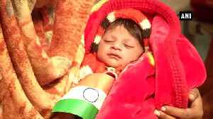 Hindu refugee family in Delhi names new born Nagrikta [Video]
