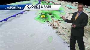 Cloudy with a chance of showers approaching Friday [Video]