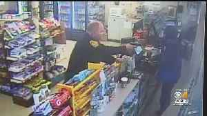 Off-Duty Newton Police Officer Stops Armed Robbery [Video]