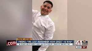 Friends of KCK teen killed in shooting hope for justice: 'It hurts really bad' [Video]