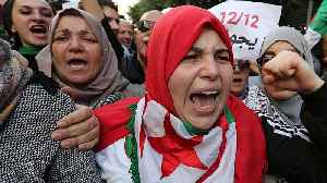 Algeria presses ahead with election amid protests [Video]