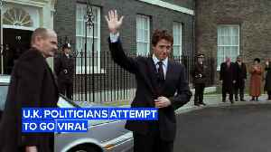U.K. Election time: Politicians try for last minute P.R. with videos [Video]