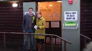 Nicola Sturgeon casts her vote in Glasgow [Video]