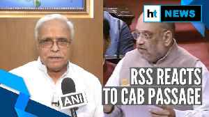 'Any Hindus coming to India...': RSS reaction to CAB passage in Parliament [Video]