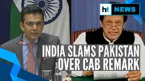 'Focus on treating your minorities well': India on Imran Khan's CAB remark [Video]