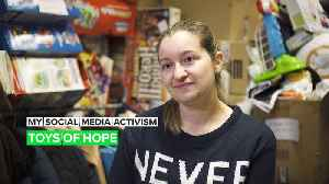 My Social Media Activism: Bringing joy, presents, and hope to kids in Spain [Video]