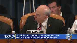 House Committee To Consider Amendments To Articles Of Impeachment [Video]