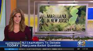 NJ Hearing On Marijuana Legalization [Video]