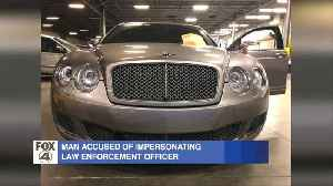 MORNING RUSH: Impersonating a police officer in a Bentley [Video]