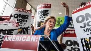Warren Avoids Medicare For All In Nevada [Video]