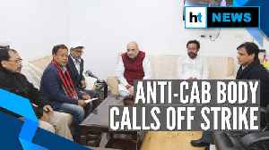 After meeting HM Amit Shah, Tripura anti-CAB body cancels indefinite strike [Video]