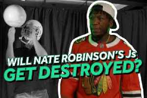 Nate Robinson Has to Watch His Custom Jordans Get Shredded If He Loses Bet with Knicks Fan [Video]