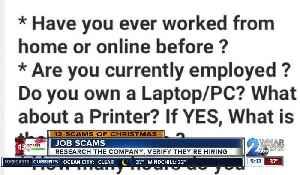 Hot to spot a job scam [Video]