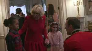 The Duchess of Cornwall serves up a special Christmas dinner at Clarence House