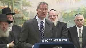 Mayor de Blasio, Commissioner Shea Meet With Jewish Leaders In Brooklyn [Video]