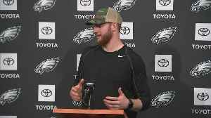 Eagles' Carson Wentz Speaks To The Media Ahead Of Sunday's Game Against Redskins [Video]