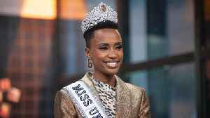 2019 Miss Universe Zozibini Tunzi's Biggest Inspirations Include Harriet Tubman & More [Video]