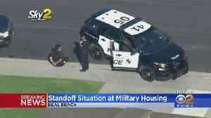 Standoff At Military Housing Near Naval Base In Seal Beach [Video]