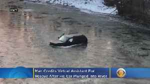 'Hey Siri, Call 911': Man Credits Virtual Assistant For Rescue After His Car Plunged Into Icy River [Video]