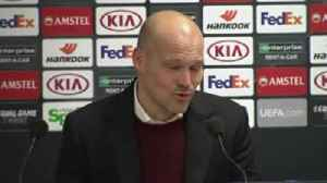 Ljungberg: Proud of Arsenal performance [Video]
