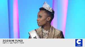 New Miss Universe Zozibini Tunzi Hopes Historic Win Inspires Young Women [Video]