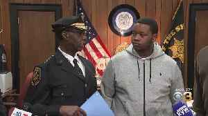Camden Football Player Honored For Helping Toddler During Pleasantville High School Football Game Shooting [Video]