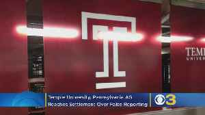 Temple University, Pennsylvania AG Reaches Settlement Over Business School's False Reporting To Ranking Publications [Video]