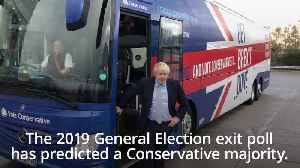 News video: 2019 General Election: Exit poll predicts Tory majority