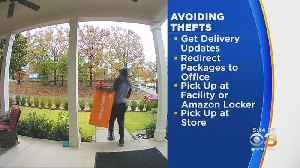 How To Keep Porch Pirates From Stealing Presents From Home [Video]