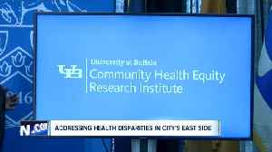 A new UB institute launched to address health disparities in Buffalo's East Side [Video]