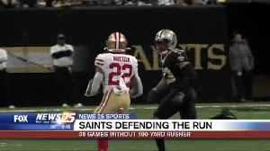 Saints defending the run: 39 games without 100 yard rusher [Video]