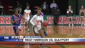 High School Girls Basketball: West Harrison vs. Gulfport [Video]