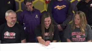 Angola's Cope Inks with IWU [Video]