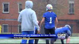 Mississippi seeks to continue winning streak vs. Alabama in football all-star game [Video]