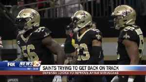 Saints trying to get back on track [Video]