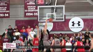 12/11/19 SCORES: Colgate uses second half rally to power past Cornell [Video]