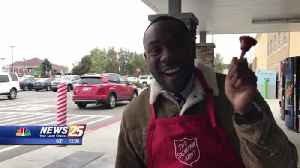WXXV Salvation Army Bell Ringers [Video]