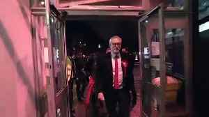 Jeremy Corbyn arrives for Islington North count [Video]