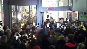 Boris Johnson arrives for Uxbridge results [Video]