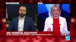 EU reacts to UK election results [Video]