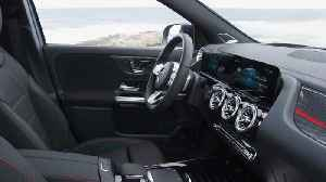 The new Mercedes-Benz GLA Edition Interior Design [Video]