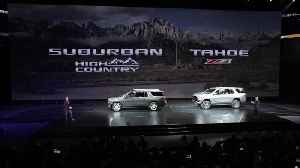 All-New 2021 Chevrolet Tahoe & Suburban - Reveal Event [Video]