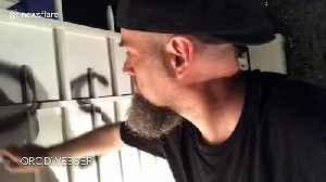 US artist spray paints slogan on gates of Jeffrey Epstein's Palm Beach home [Video]