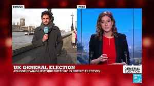 """UK General Election: """"An emphatic victory for getting on with Brexit"""" [Video]"""