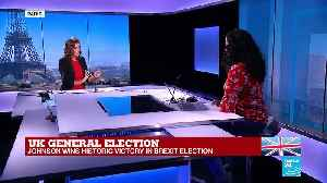 Social media reacts to UK General election results [Video]