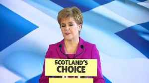 Nicola Sturgeon sets out SNP's post-election plans [Video]